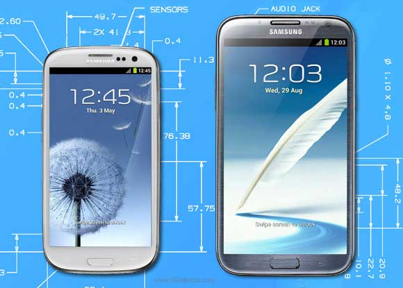 ปลดล็อค Samsung Galaxy S3 S4 Note 2