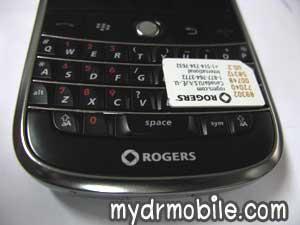 Lock Blackberry